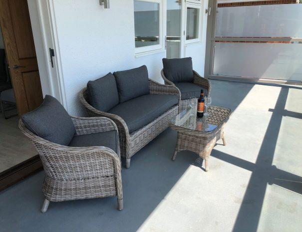 Large Balcony Seating Area